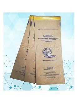 Крафт-пакеты для воздушной и паровой стерилизации самозапечатывающиеся 100х250 мм (100 шт.)