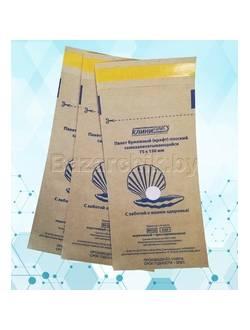 Крафт-пакеты для воздушной и паровой стерилизации самозапечатывающиеся 75х150 мм (100 шт.)