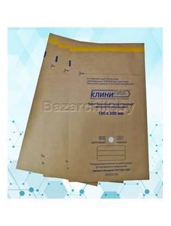 Крафт-пакеты для воздушной и паровой стерилизации самозапечатывающиеся 180х300 мм (100 шт.)