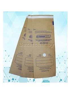 Крафт-пакеты для воздушной и паровой стерилизации самозапечатывающиеся 90х230 мм (100 шт.)