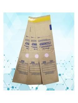 Крафт-пакеты для воздушной и паровой стерилизации самозапечатывающиеся 50х170 мм (100 шт.)