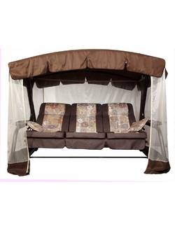 Мягкий элемент (сиденье) для качелей садовых Палермо Премиум (мебельная ткань)