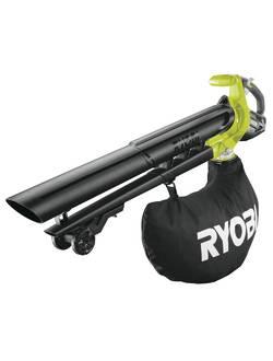 ONE + / Воздуходувка-пылесос садовая бесщеточная RYOBI OBV18 (без батареи)
