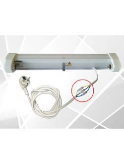 Облучатель бактерицидный ультрафиолетовый ОБУ-30п Витязь (провод с вилкой в комплекте)