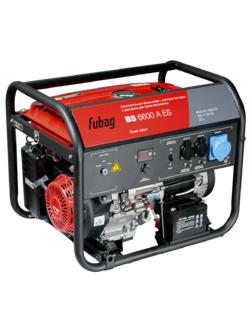 Генератор бензиновый FUBAG BS 6600 A ES с электростартером и коннектором автоматики