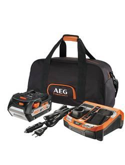 Аккумулятор AEG SET L1850BLK с зарядным устройством (в сумке)