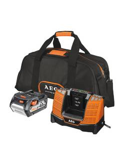 Аккумулятор AEG SET LL18X0BL с зарядным устройством (в сумке)