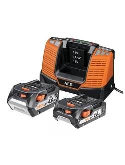 Аккумулятор AEG SET LL18X02BL2 (2) с зарядным устройством (в сумке)