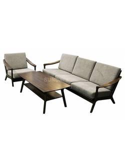 Комплект мягкой мебели Sundays HARRISON RT639/1, каучуковое дерево