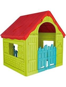Детский уличный игровой домик FOLDABLE PLAYHOUSE MAYGRN-MA Бирюзово-зеленый