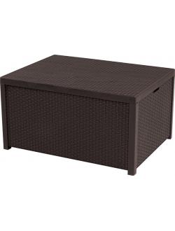Стол сундук Arica storage table brown 036 STD коричневый
