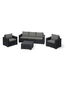 Набор мебели CALIFORNIA 3 set brn/wmt