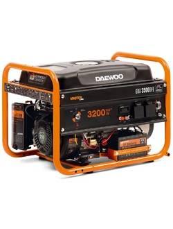 Генератор бензиновый DAEWOO GDA 3500 DFE (газовый)