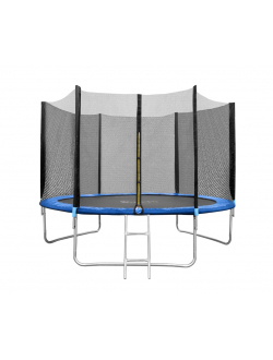 Батут складной Funfit 3,12 м. - 10ft с внешней защитной сеткой и лестницей