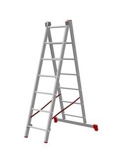 Лестница ал. двухсекц. 2х10 ст NV 222 Новая высота 2220210