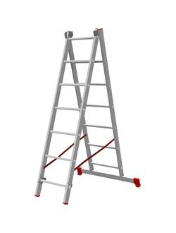 Лестница ал. двухсекц. 2х8 ст NV 222 Новая высота 2220208
