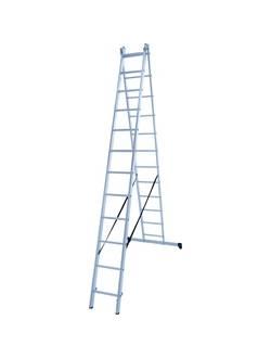 Лестница ал. двухсекц. 2х12 ст NV 122 Новая высота 1220212