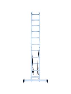 Лестница ал. двухсекц. 2х11 ст NV 122 Новая высота 1220211