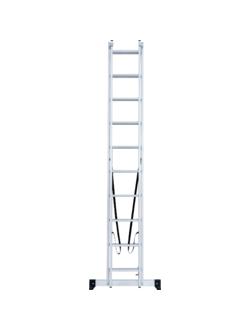 Лестница ал. двухсекц. 2х10 ст NV 122 Новая высота 1220210