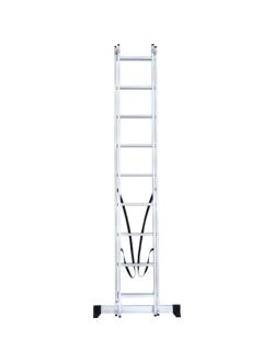 Лестница ал. двухсекц. 2х9 ст NV 122 Новая высота 1220209