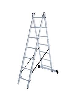 Лестница ал. двухсекц. 2х7 ст NV 122 Новая высота 1220207