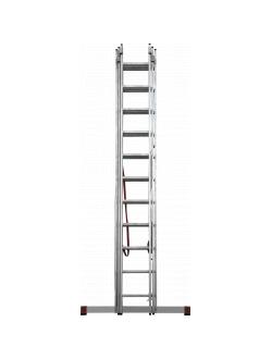 Лестница ал. трёхсекц. 3х11 ст проф. NV 323 Новая высота 3230311