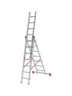 Лестница ал. трёхсекц. 3х12 ст проф. NV 323 Новая высота 3230312