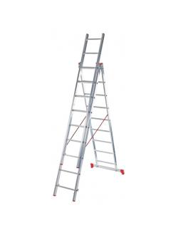Лестница ал. трёхсекц. 3х13 ст NV 223 Новая высота 2230313