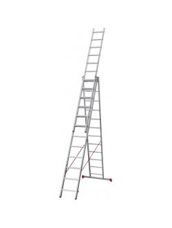 Лестница ал. трёхсекц. 3х12 ст NV 223 Новая высота 2230312