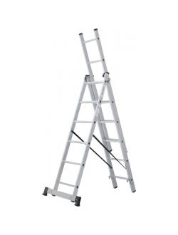 Лестница ал. трёхсекц. 3х6 ст NV 123 Новая высота 1230306