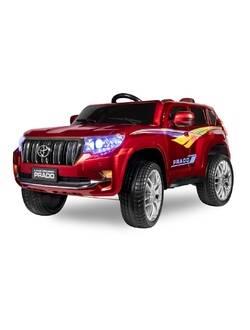 Детский электромобиль Kid's Care Toyota Land Cruiser Prado 4x4 (красный paint)