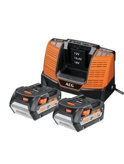 Аккумулятор AEG SET LL1850BL (2) с зарядным устройством (в сумке)