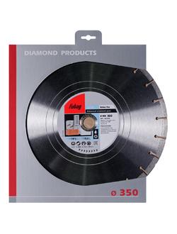 Алмазный диск (по бетону) Beton Pro 350x2,8x25,4/30 FUBAG