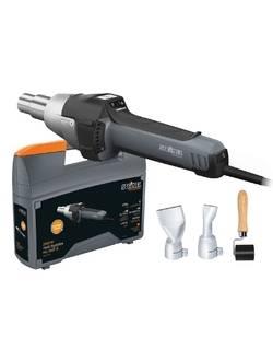 Фен строительный профессиональный (термовоздуходувка) STEINEL HG 2620 E + набор для пайки кровли и брезента