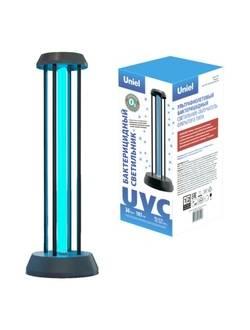 Облучатель бактерицидный ультрафиолетовый Uniel UGL-T01A 36W/UVCO (black)