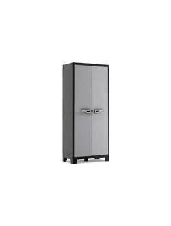Шкаф пластиковый MULTISPACE TITAN BK/GL KETER