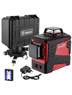 Уровень лазерный DEKO DKLL12PR3 case