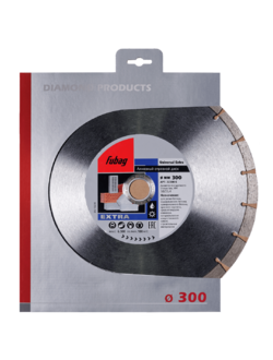 Алмазный диск (по бетону) Universal Extra 300х3,2х25,4/30 FUBAG