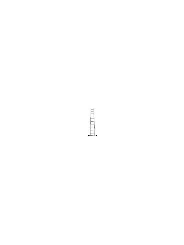 Лестница Dogrular Ufuk Pro 2x9 ступеней