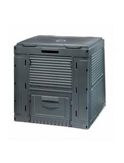 Компостер Keter E-Composter с базой, черный