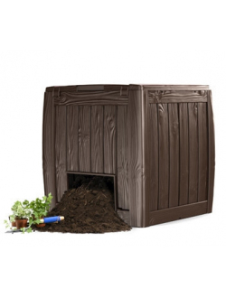 Компостер садовый Keter Deco Composter, коричневый