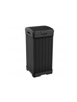 Контейнер для мусора уличный BALTIMORE BIN 125L, черный