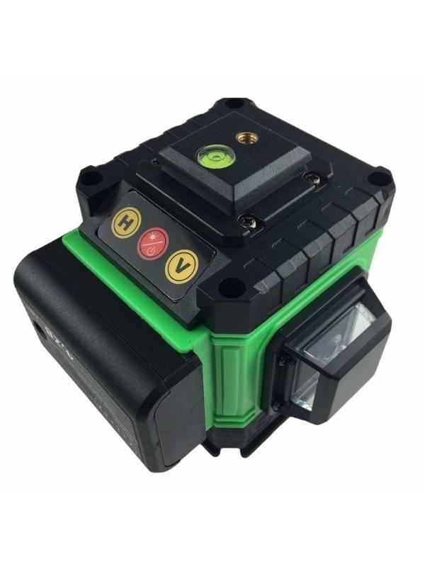 Уровень лазерный самовыравнивающийся ZITREK LL12-GL-Cube зеленый луч