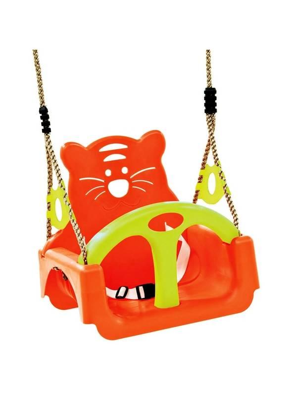Детские подвесные качели KBT Baby Trix (3 в 1) Оранж+лайм