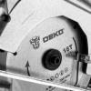 Пила циркулярная аккумуляторная DEKO DKCS20 Laser