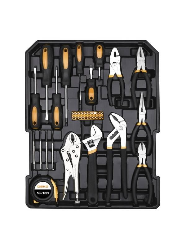 Набор инструментов для авто и дома DEKO DKMT187 SET 187