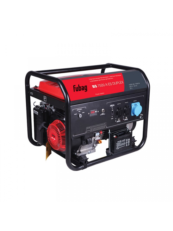 Генератор бензиновый FUBAG BS 7500 A ES DUPLEX