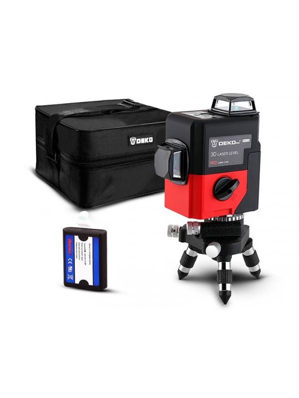 Уровень лазерный самовыравнивающийся DEKO LL12-HVR