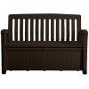 Скамья сундук Patio Storage Bench 227л, коричневый