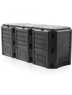 Компостер Module Compogreen 1200 л, черный
